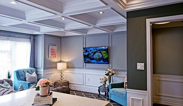 Waffle Ceiling Vs. Coffered Ceiling