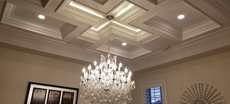 Coffered Ceilings vs Tray Ceilings